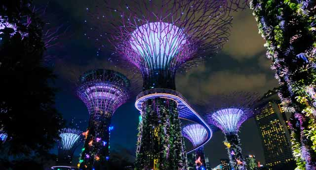 Gardens on the Bay in Singapore
