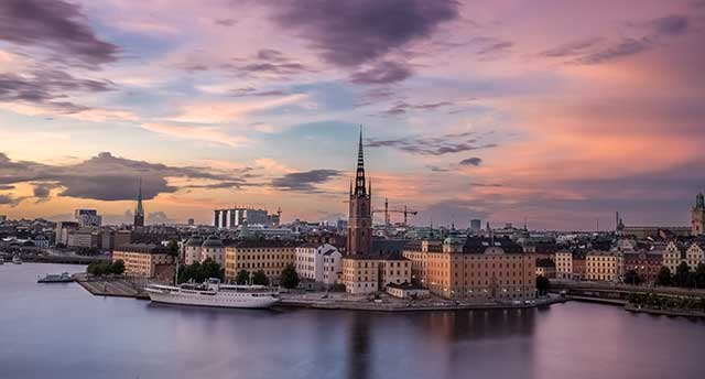 Picture of Stockholm in Sweden