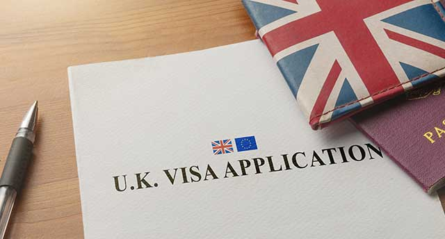Visa Application to the UK