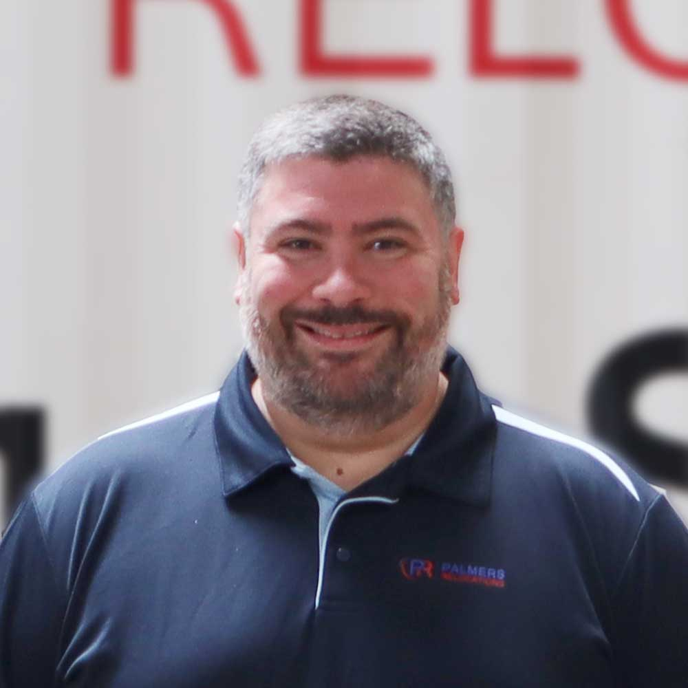Davide Angelini - National Sales Manager Palmers Relocations