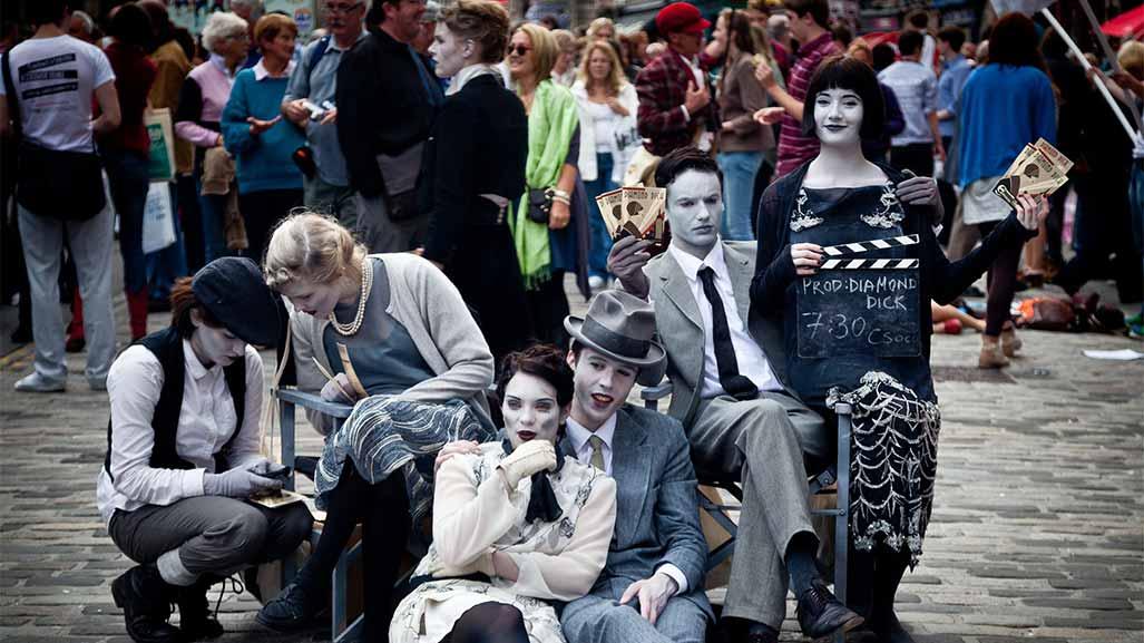 Edinburgh Fringe in the UK