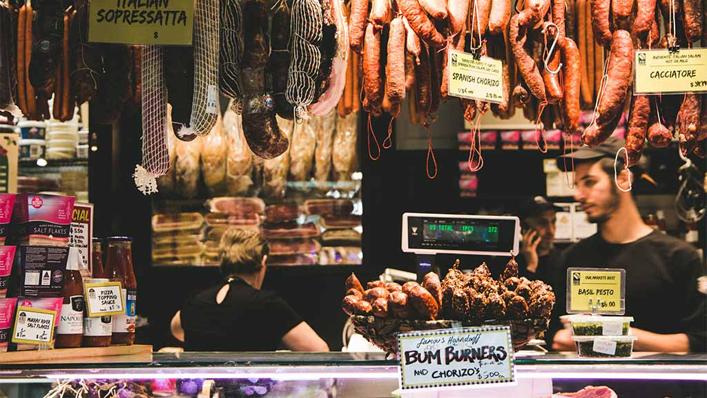 Queen Victoria Market In Melbourne Victoria