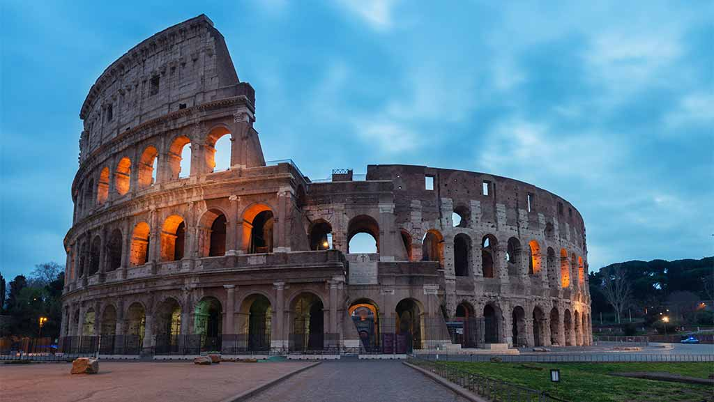 coloseum arena in roma italy