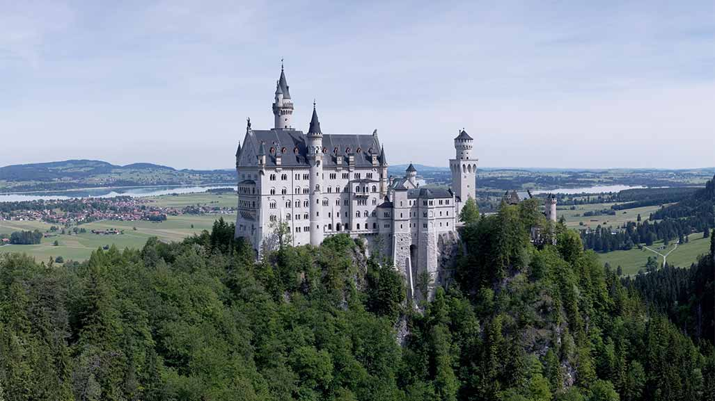 disney chateau in germany