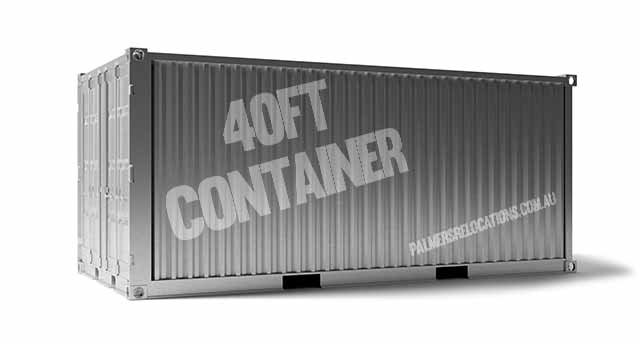 40ft container capacity