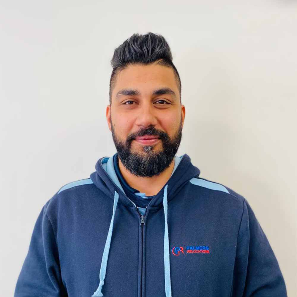 kevin Singh - Melbourne Branch Manager Palmers Relocations