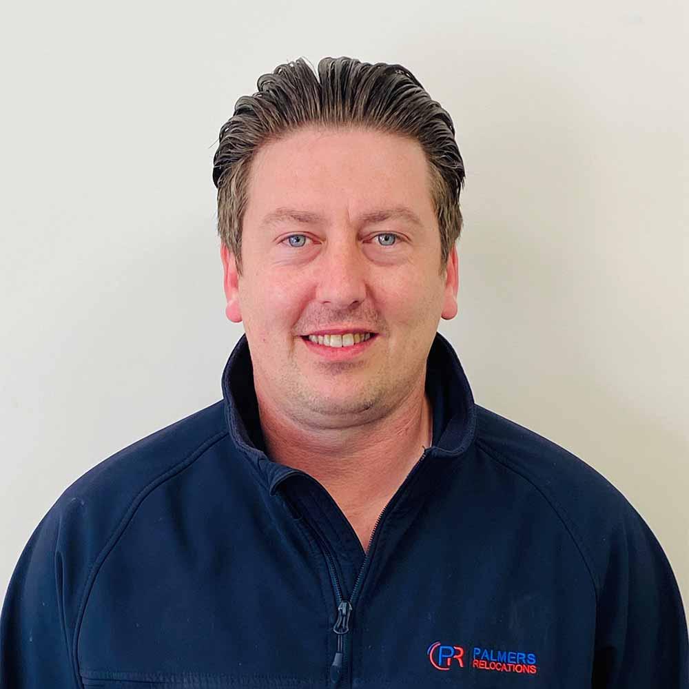 Kieran O'Hara - Business Director Palmers Relocations
